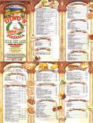Dino's Pizzeria* menu preview